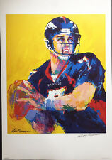 LeRoy Neiman JOHN ELWAY Denver Broncos HAND SIGNED Limited Edition Lithograph