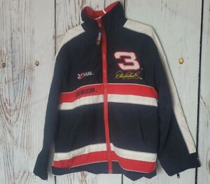 VTG Dale Earnhardt Nylon Jacket Youth Small 8-10 Chase Authenics Goodwrench Plus