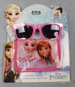Disney Frozen Wallet and Sunglasses Gift Sets UV Sun Safe Summer Holiday