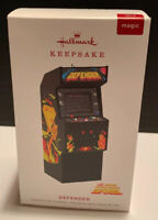 2019 Hallmark DEFENDER Coin-op Video Game W/ Light and Sound Magic ORNAMENT NIB