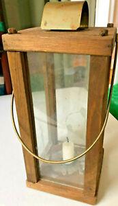 Handmade Wooden Candle Lantern