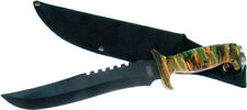 Frost Cutlery Fixed Blade Knife New Jungle Fever I Bowie 18-434CA