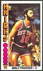 1976-77 Topps Basketball Walt Frazier #64 - New York Knicks - Mint