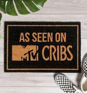 Official As Seen On MTV Cribs Door Mat