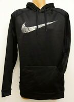 New Mens Nike PO Therma Dri-Fit Athletic Training Hoodie Sweatshirt S-4XLT