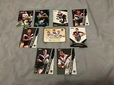 9 x NEW ZEALAND WARRIORS AUSTRALIAN RUGBY LEAGUE CARDS MIXED BULK COLLECTION EXC