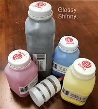 (120g/80g) 4 Glossy Toner Refill for HP Laserjet CM1312, CP1215, CP1515 + 8 Chip