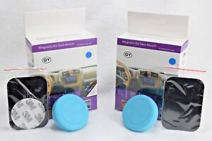 2x Cell Phone GPS Air Vent Magnetic Car Mount Holder For iPhone X 8 Samsung S8