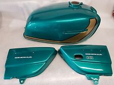 SUZUKI GT550L 1974 MODEL TANK AND SIDE PANELS FULL PAINTWORK DECAL KIT