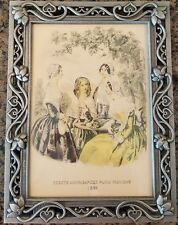 1860 GODEY'S Lady's Book Fashion Advertising Print Lithograph