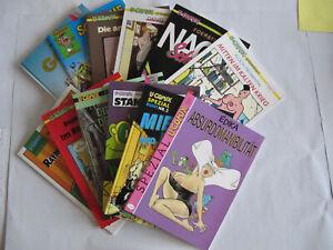 Urlaubs-Lesepaket Nr. 8 mit 12 Comic-Alben der Reihe U-Comix**NEU
