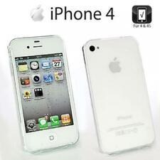 Handy Hülle iPhone 4 4S Schutzhülle TPU Bumper Back Case Cover Silikon Tasche