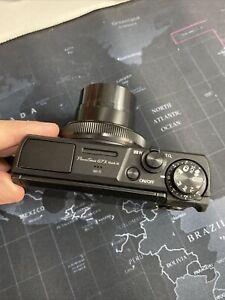 Canon PowerShot G7 X Mark III - 20.1MP Digital Camera - Black *MINT*  No Charger