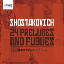 Peter Donohoe - Shostakovich: 24 Preludes And Fugues (NEW 2CD)