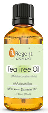 Pure Tea Tree Essential Oil 50ml. Australian Melaleuca and Organic. Get One Now