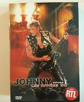 █ JOHNNY HALLYDAY : COFFRET 2 DVD NEUFS - LES ANNEES 90 (vol. 2 - 62 TITRES)