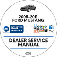 Ford Mustang 2005-2011 Factory Service Repair Manual