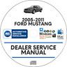 Ford Mustang 2005-2011 Factory Service Repair Manual