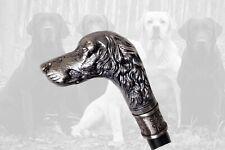 New ListingCane Labrador Retriever Dog Head / Gentlemen's Walking Stick / Art Deco Style