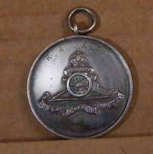 Royal Artillery Malta 1938 Athletics Medal Solid silver Tested 20 grams