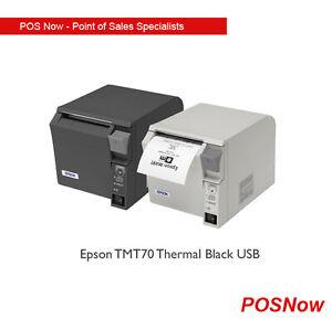 Epson TMT70II Thermal Black USB/PARELLEL