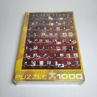 Famous Scientists 1000 Piece Jigsaw Puzzle by Eurographics Poster Big Science of