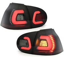 LIGHTBAR LED RÜCKLEUCHTEN VW GOLF 5 V 03-09 SCHWARZ LINKS RECHTS HECKLEUCHTEN