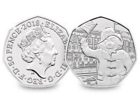 2018 UK Paddington at Palace CERTIFIED BU 50p - Official UK Issue [Ref: 922N]