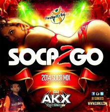 SOCA 2 GO 2014 MIX CD