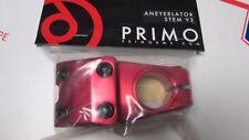 """PRIMO BMX BIKE Top Load Stem 1-1/8"""" REDNECK Aneyerlator V3 11.3oz FIT S&M GT NEW"""