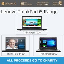 LENOVO ThinkPad - Business Laptop - Intel i5 6th Gen - 8GB RAM - 256GB SSD
