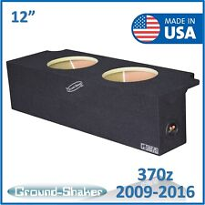 "For Nissan 370z Coupe 03-2008 12"" Dual Sealed Sub Box sealed subwoofer enclosure"
