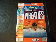 2012 Olympic wheaties box  Michael Phelps