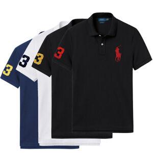 RalphLauren Herren Poloshirt T-Shirt Polohemd Kurzarm Polo Shirt S M L XL XXL