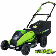 """Greenworks (19"""") G-Max DigiPro Brushless 40-Volt Lithium-Ion Cordless Lawn Mower"""
