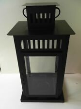 Tall Ikea Borrby Lantern Indoor/Outdoor Black 701.561.11 (not for hanging)