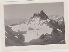 PHOTOGRAPHIE ANCIENNE-1907-MONTAGNE/ENVIRONS REDOUTE-RUINEE/CHASSEURS ALPINS