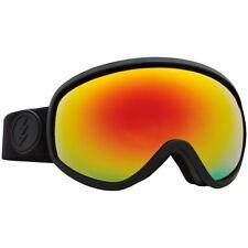Electric Visual Mesher Negro Mate Gafas de Snowboard ( Brose / Rojo Cromo )