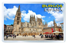 BURGOS SPAIN FRIDGE MAGNET SOUVENIR IMAN NEVERA