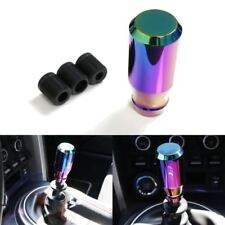 JDM Neo Chrome short Bar MANUAL Stick shifter Gear Drift Shape Shift Knob F370