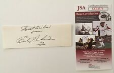 Carl Perkins Signed Autographed 1.5 x 5 Card JSA Certified