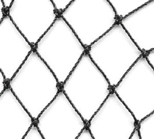 """50' x 100' Heavy Knotted Aviary 2"""" Poultry Net Netting"""