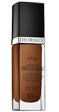 Diorskin Star Fluid Studio Makeup Foundation SPF30 EBONY 080 NWOB