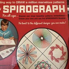 Vintage 1967 Kenner Spirograph No. 401 Nearly Complete