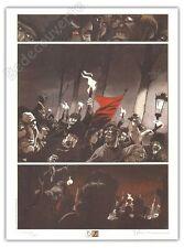 Affiche Yslaire Sambre Révolution 280signé 30x40