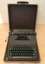 REFURBISHED Smith Corona Sterling 1950's Typewriter w/case + NEW RIBBON works!