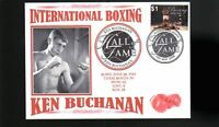 KEN BUCHANAN INTER BOXING HALL OF FAME INDUCTEE COVER