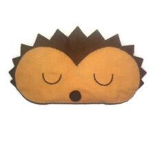 Hedgehog sleep mask Gift Adult Kids Woodland Animal Cute Eye Mask Handmade