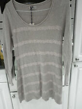 Marks and Spencer Women's Cotton Blend Scoop Neck Jumpers & Cardigans