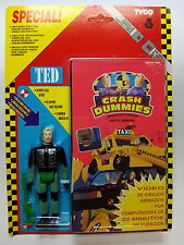 CRASH DUMMIES - TED - TYCO - VHS  *** NUEVO*** NOT USED*** NEW***